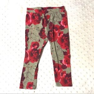 Kitty and roses pants